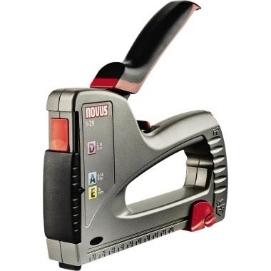 Handtacker J 29 High Performer NOVUS schwarz/rot Heftklammern: Typ A, Typ E, Typ D, Typ G, Typ H