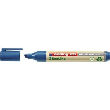 Edding Whiteboardmarker 29 EcoLine blau Keilspitze 1-5mm