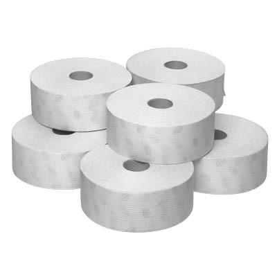 Toilettenpapier 2-lagig Grossrolle Maxi 360 Meter 6St./Karton , weiß Zellstoff