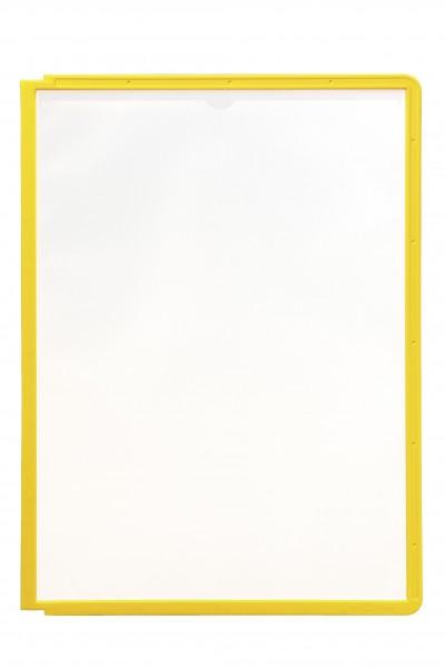 Sichttafel A4 hoch SHERPA Panel gelb