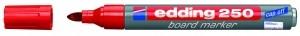 EDDING BOARDMARKER 250 ROT 1.5-3MM NACHFÜLLBAR/BT30 / RUNDSPITZE