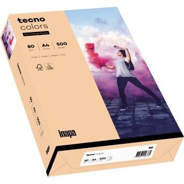 Kopierpap. A4 120g/m² lachs (40) 250 Bl./Pack Tecno Colors 2100011350