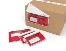 Dokumententasche DL LFS/RE 1000 St./Pack selbstklebend, , 110X240mm
