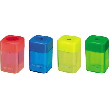 Spitzerdose Westcott E-14214 00 farbig sortiert für Stiftdurchmesser: 8 mm