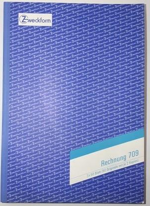 Zweckform Rechnung A4 3x 50 Blatt **Restposten, begrenzte Menge **