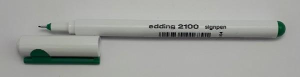 EDDING 2100 SIGNPEN 0.3 MM GRÜN