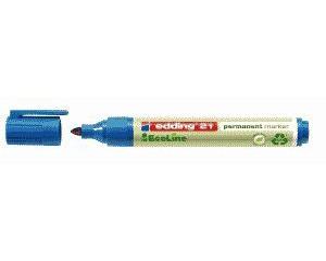 Edding 21 Permanentmarker EcoLine blau