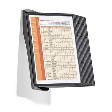 Sichttafelwandhalter SHERPA STYLE WALL Maße: 11,5 x 34,6 cm (B x H)