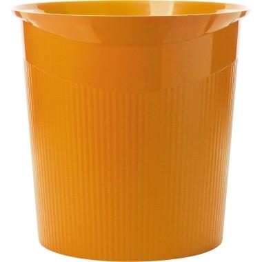 Papierkorb HAN LOOP PP konisch 13 l orange Maße: 22,6 x 28,8 cm (B x H)