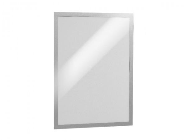 Magnetschilderrahmen A3 Duraframe silber selbstklebend,magnetische Vorderseite,6 St./Pack