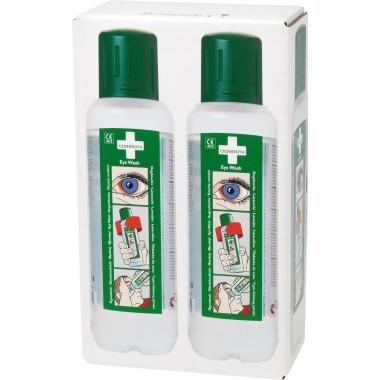 Augendusche CEDERROTH Eye Wash 2 St./Pack Inhalt: 500 ml , Kunststoffflasche