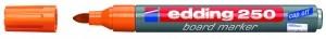 EDDING BOARDMARKER 250 ORANGE 1.5-3MM NACHFÜLLBAR/BT30 / RUNDSPITZE