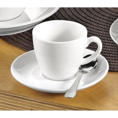 Espressotasse Bistro Esmeyer 12-teilig weiß 6 Tassen/Pack