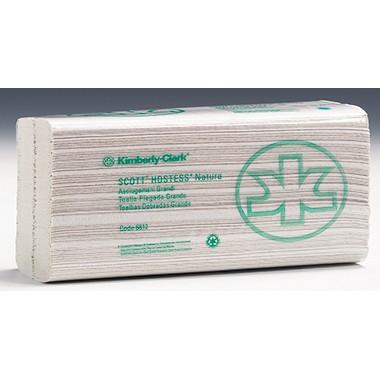 Falthandtücher 50x25cm 2-lagig Scott C-Falz weiß 20x84 Bl./Pack