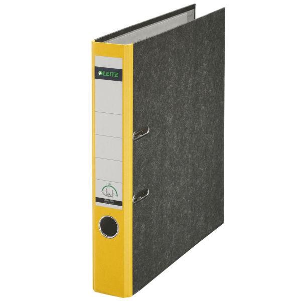 Ordner A4 Leitz 1050 50mm gelb 15 *Nettoartikel*