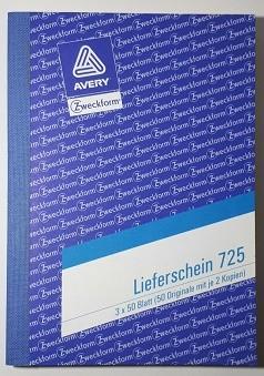 Zweckform Lieferschein A6 3x 50 Blatt **Restposten, begrenzte Menge**