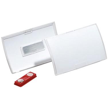 Namensschild 75x40mm (BxH) mit Magnet DURABLE CLICK FOLD ,10 St./Pack