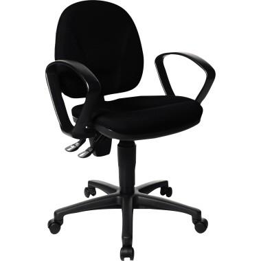 Bürodrehstuhl TOPSTAR Point 10 PO10B2G20 schwarz