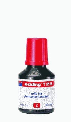 EDDING T 25 30ML ROT