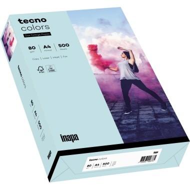 Kopierpap. A4 80g/m² hellblau (82) 500 Bl./Pack Tecno Colors 2100011395