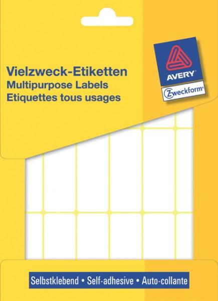 Etiketten 50x19 mm weiss 486 St./Pack