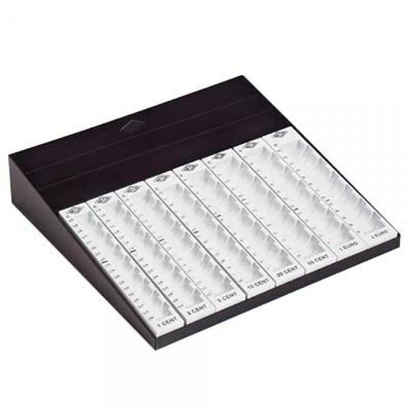 Geldzählbrett Wedo schwarz/lichtgrau Maße:27,8x6x27cm (BxHxT)