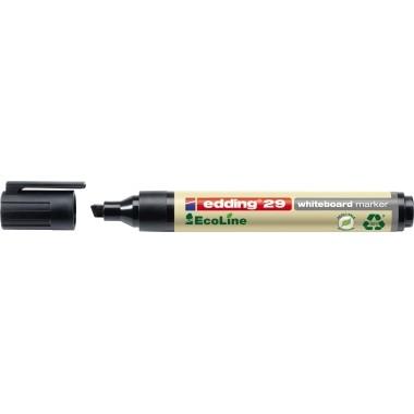 Edding Whiteboardmarker 29 EcoLine schwarz Keilspitze 1-5mm