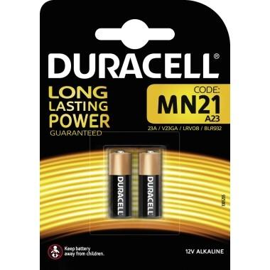 Batterie V23GA Duracell MN21 Alkaline 12V Kapazität: 33 mAh ;2 St./Pack