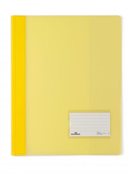 Schnellhefter A4 Duralux Überbreite gelb Maße: 24,5 x 31 cm (B x H)
