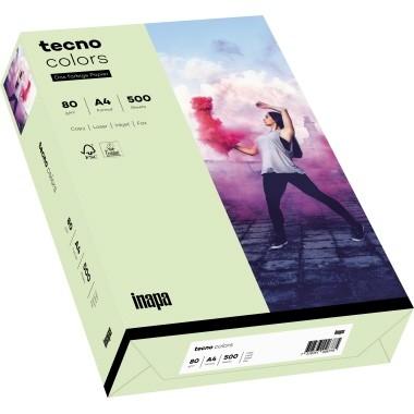 Kopierpap. A4 80g/m² hellgrün (72) 500 Bl./Pack Tecno Colors 2100011399