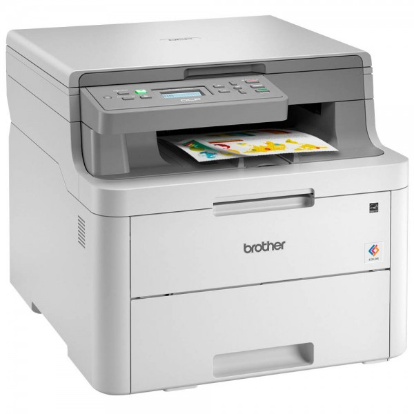 Brother DCP-L3510CDW Farb-Multifunktionsdrucker drucken/kopieren/scannen Lasertechnologie