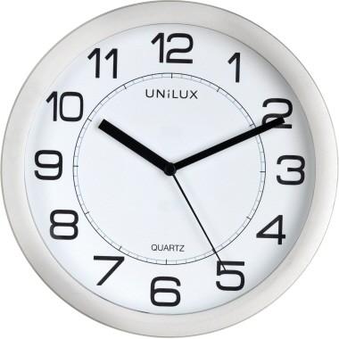 Wanduhr Unilux Attraction quarzgesteuert analog Durchmesser: 22 cm