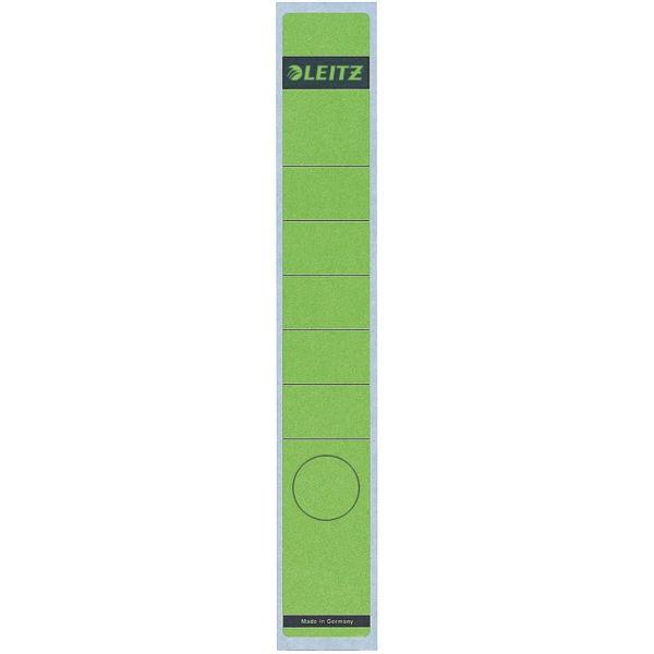 Rückenschilder f.1050 schmal/lang grün Format:39x285mm, 10 St./Pack