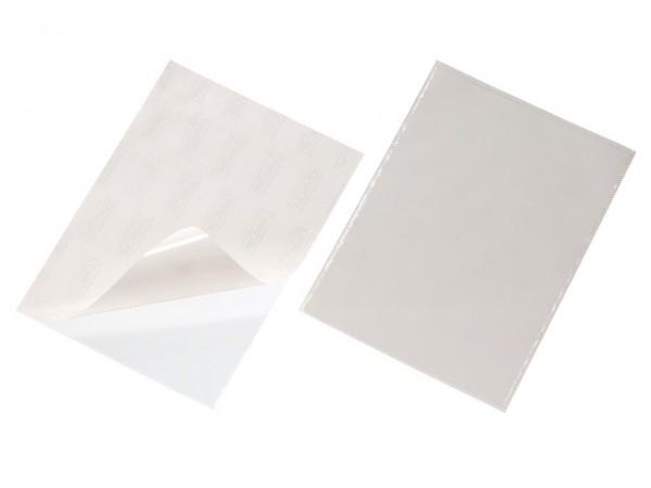 Pocketfix A4 210x297mm Selbstklebetasche transparent , oben offen , 3 Stück/Beutel