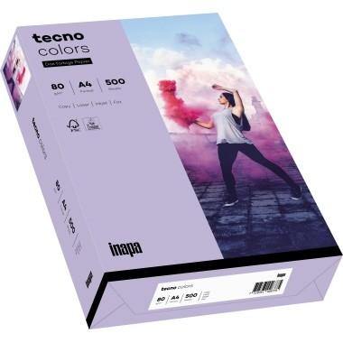 Kopierpap. A4 80g/m² violett (60) 500 Bl./Pack Tecno Colors 2100011422