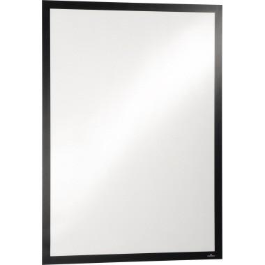 Magnetschilderrahmen 50x70cm DURAFRAME schwarz selbstklebend,Größe (B x H): 545 x 745 mm