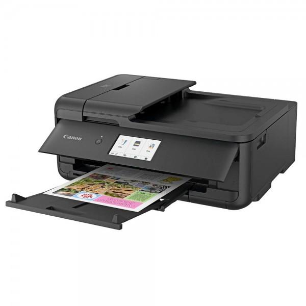 Canon Tintenstrahldrucker TS9550 schwarz Multifunktion drucken, kopieren, scannen