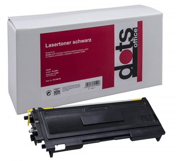 Lasertoner Gr.1159HC wie Brother TN2000 schwarz Druckseiten ca.5000 Seiten/ dots rebuilt