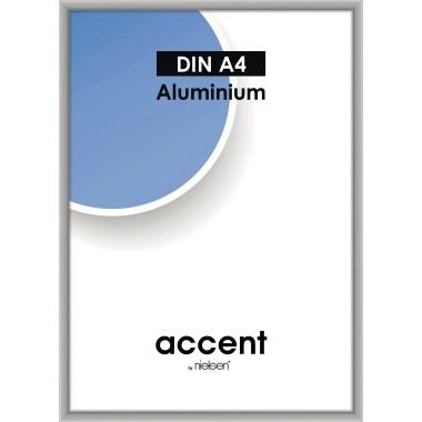 Bilderrahmen Nielsen accent 21x29,7cm (BxH) silber Material des Rahmens: Aluminium