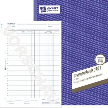 Zweckform Inventurbuch A4 50 Blatt