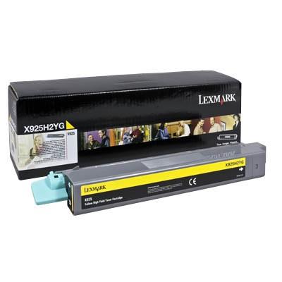 Lexmark Toner X925H2YG gelb Druckleistung ca. 7.500 Seiten