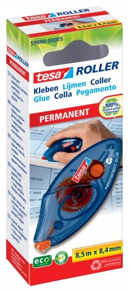 Kleberoller Tesa permanent Einweg 59090 8,4MMX8,5M