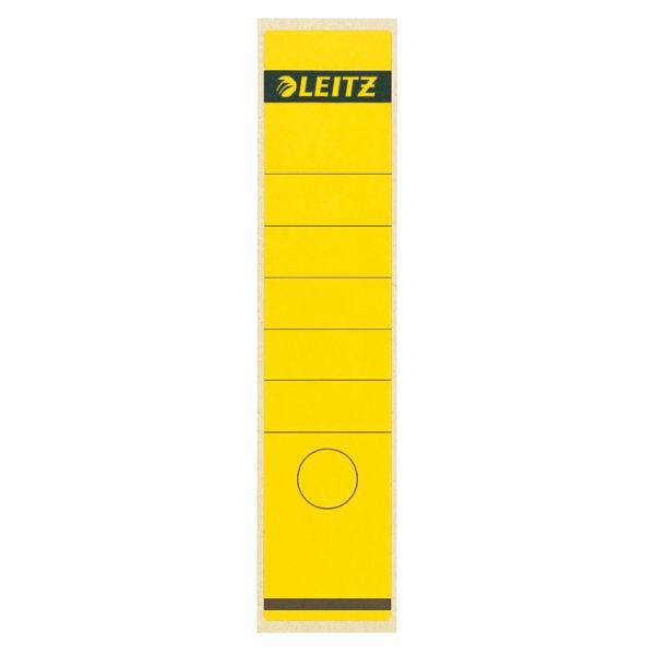 Rückenschilder f.1080 breit/lang gelb 10 St./Pack Format:62x285mm, selbstklebend