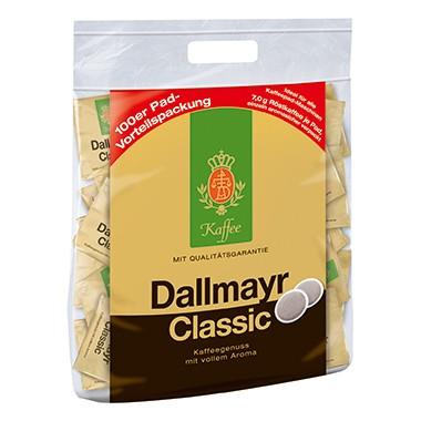 Kaffeepads Dallmayr Classic kräftig aromatisch 100 x 7 g/Pack