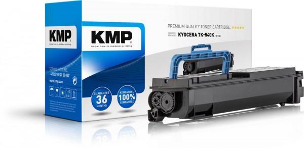 Lasertoner Gr.2886 kompatibel f. Kyocera TK-540BK Druckleistung ca. 5.000 Seiten, KMP rebuilt