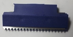 Ersatzmesser für Tesa Tischabroller 57422 Zacken Messer **Nettoartikel**