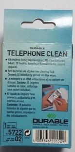 REINIGUNGSTÜCHER TELEPHONECLEAN 10 STÜCK ZUR REINIGUNG VON TELEFON UND HANDY