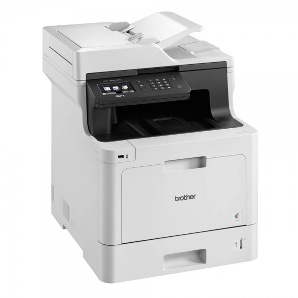 Brother Multifunktionscenter MFC-L8690CDW# Farblaser/Kopierer/Farbscanner/Laserfax