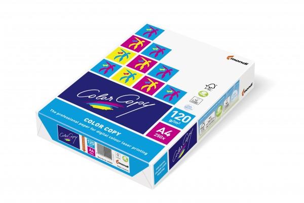 Kopierpap. A4 120g/m² Color Copy weiß 250 Bl./Pack für Farbkopierer,Ink-Jet CC satinierte Oberfläche