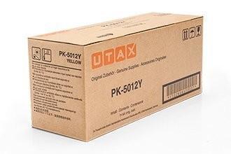 UTAX Toner PK-5012Y gelb Druckleistung ca.10.000 Seiten